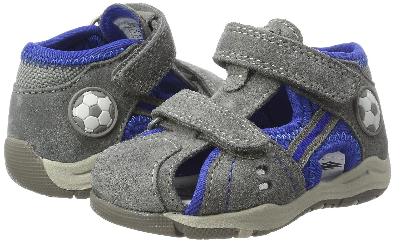 Indigo Baby Jungen 389 071 Sandalen, Grau (Grey VL), 24 EU