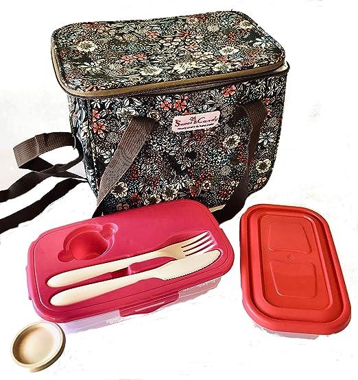 Bolsa térmica o Lunch Bag para Comida con fiambreras o Lunch ...