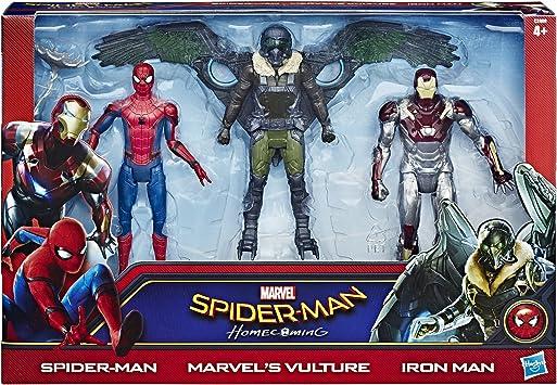 Marvel - Spiderman, Pack de 3 Figuras Web City de 15 cm (Hasbro ...