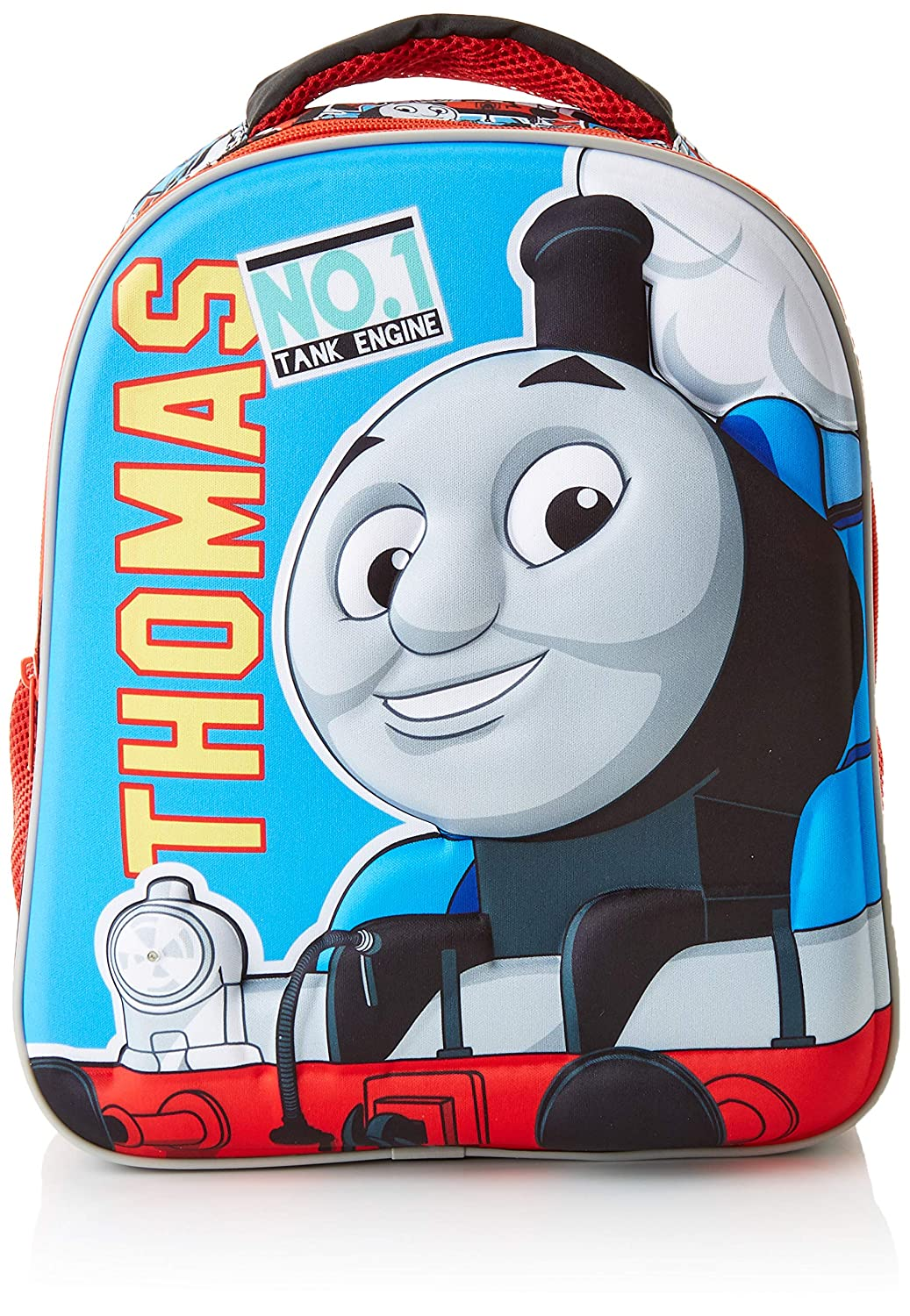 Diakakis 000570441 zaino 3D 27 x 31 x 10 Thomas The Train 2 casi, multicolore