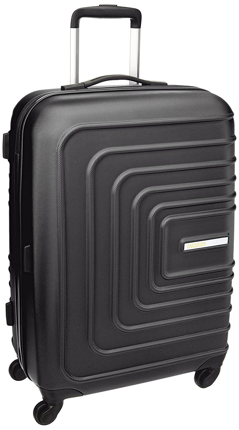 American Tourister Sunset Square ABS 67 cms Black Hard Sided Suitcase
