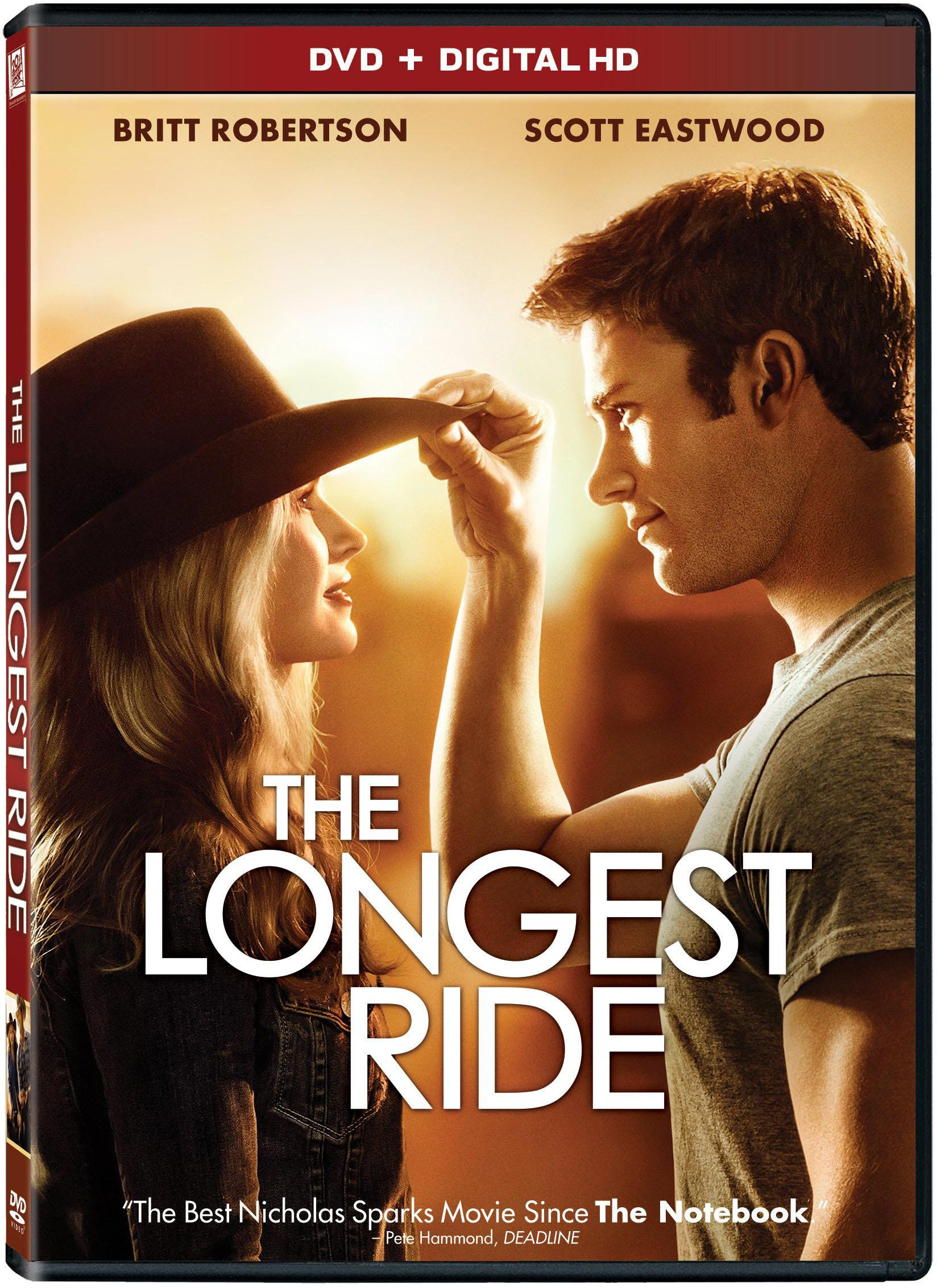 DVD : The Longest Ride (Dubbed, , Dolby, Digitally Mastered in HD, Digital Theater System)