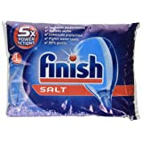 Finish Dishwasher Salt, 5 kg - Pack of 2