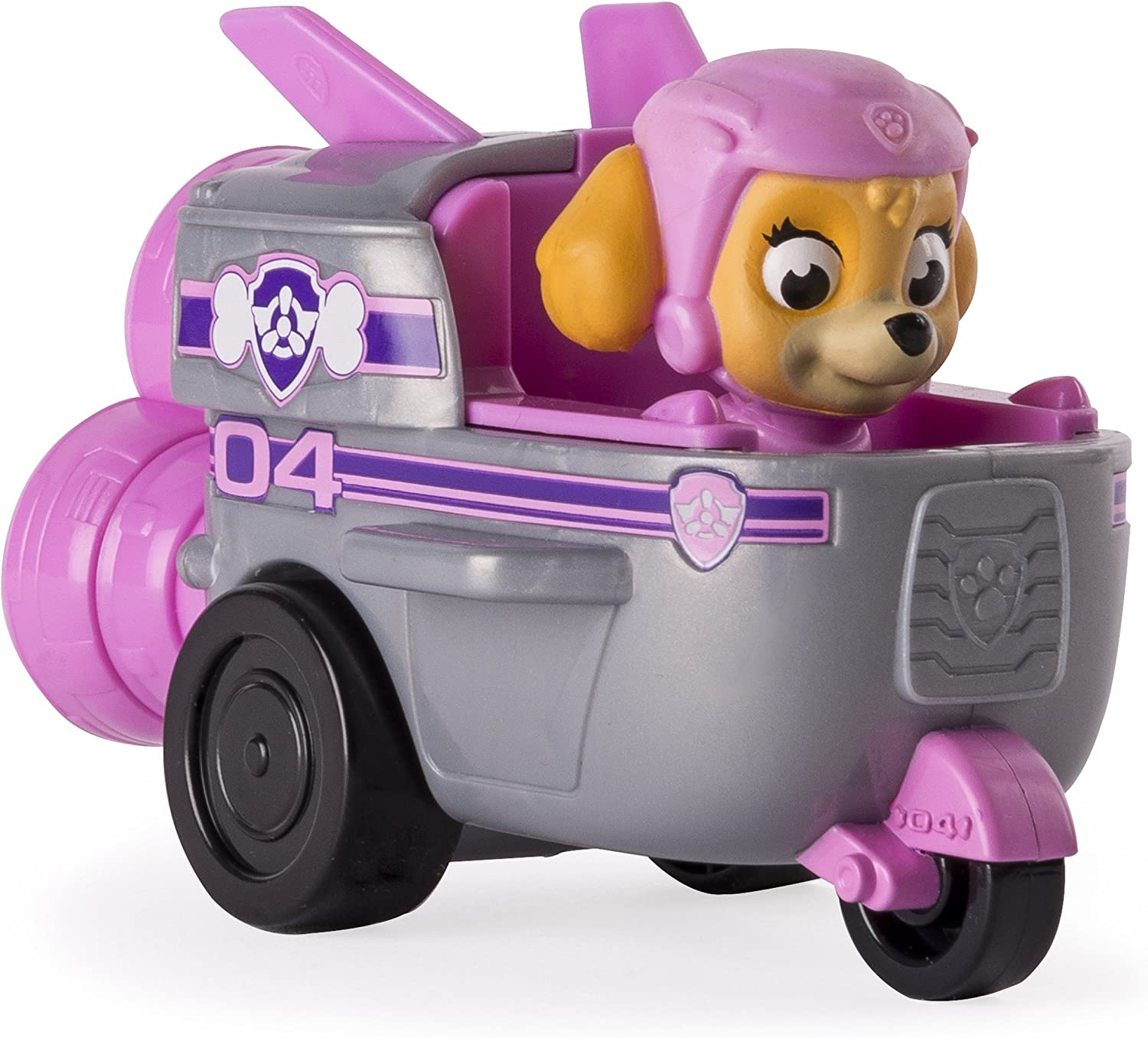 Paw Patrol Skye/'s Rocket Ship Vehicle And Dog Figure Children Kids Toy Gift Idea