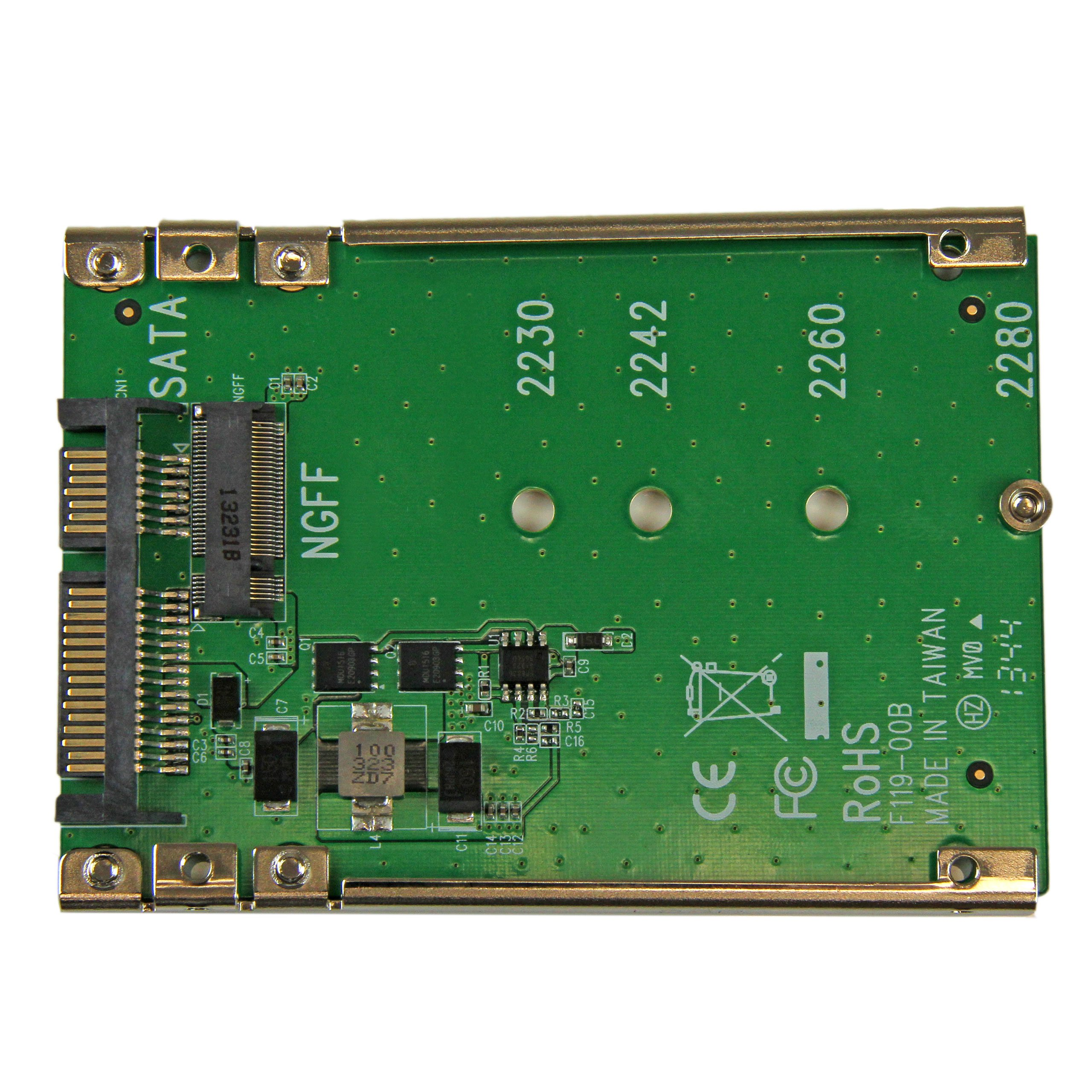 StarTech M.2 NGFF SSD to 2.5in SATA Adapter Converter (SAT32M225) by StarTech (Image #3)