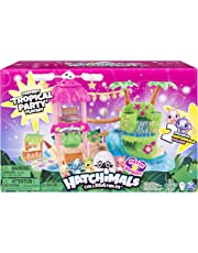 Hatchimals CollEGGtibles, Tropical Party Playset with Lights, Sounds and Exclusive Season 4 Hatchimals CollEGGtibles, for Ages 5 and Up