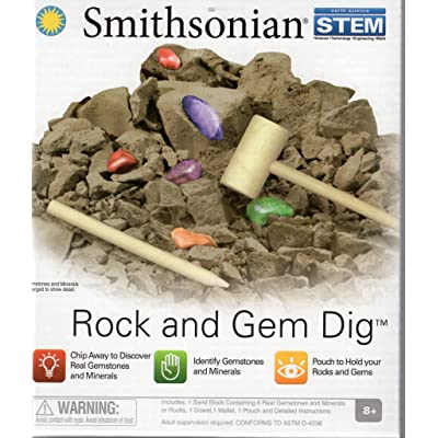 Smithsonian Rock and Gem Dig: Toys & Games