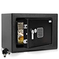 Deals on SereneLife Home Security Electronic Lock Box, Safe SLSFE15