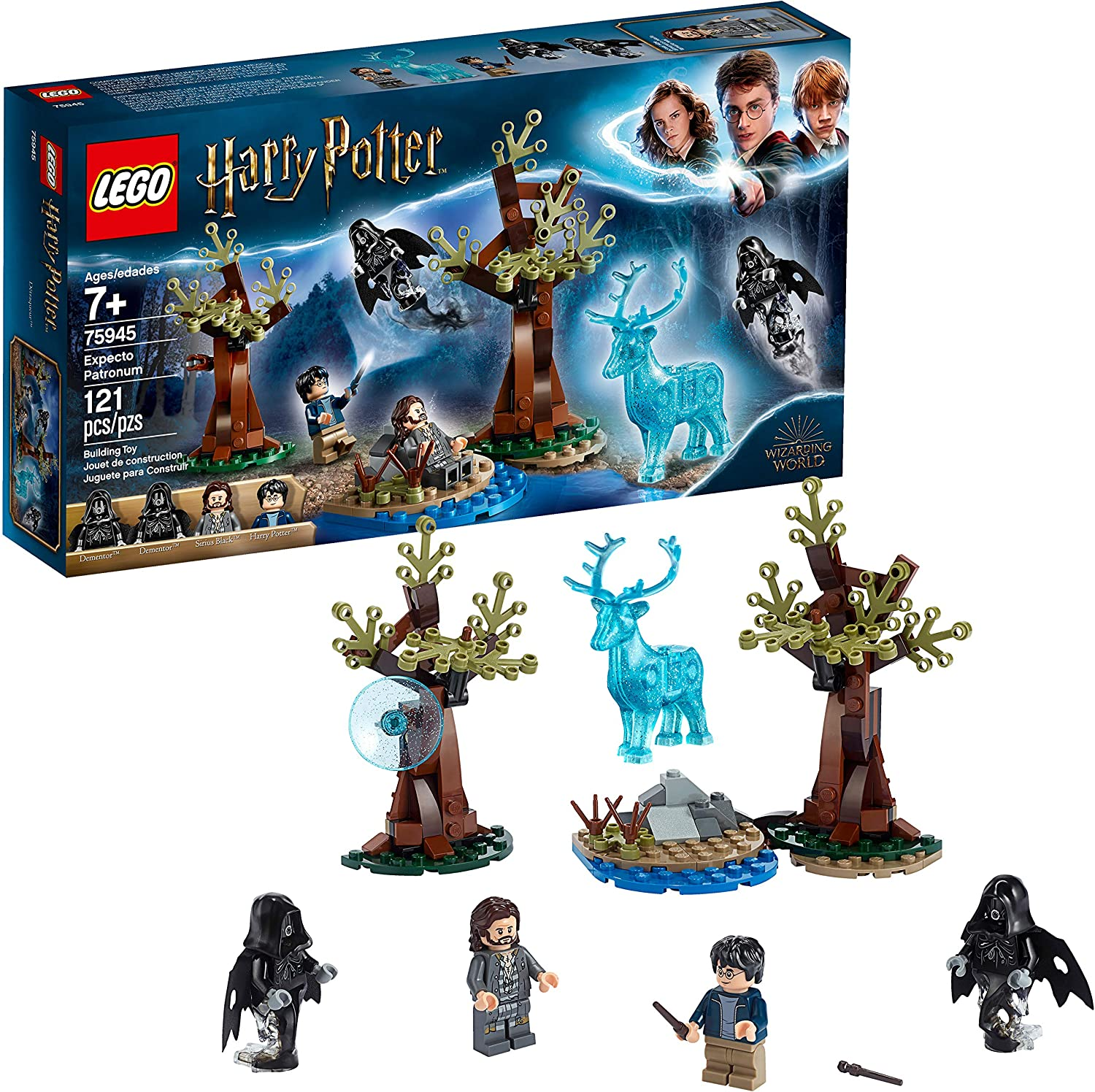 Lego Harry Potter And The Prisoner Of Azkaban Expecto Patronum 75945 Building Kit 121 Pieces Toys Games