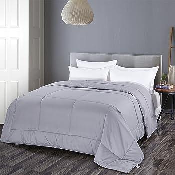 Shilucheng Grey Goose Down Alternative Comforter
