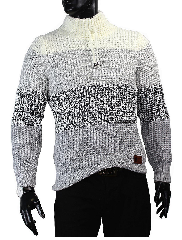 Clubju Men's Jumper white white grey