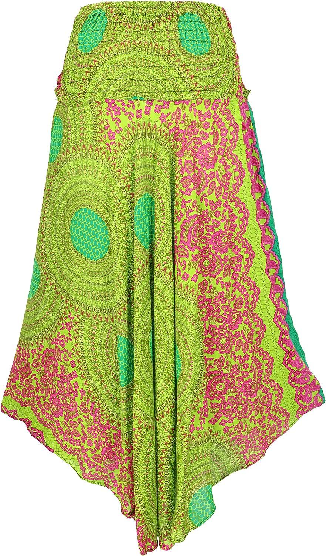 Guru-Shop - Falda de verano para mujer, estilo hippie chic, color ...