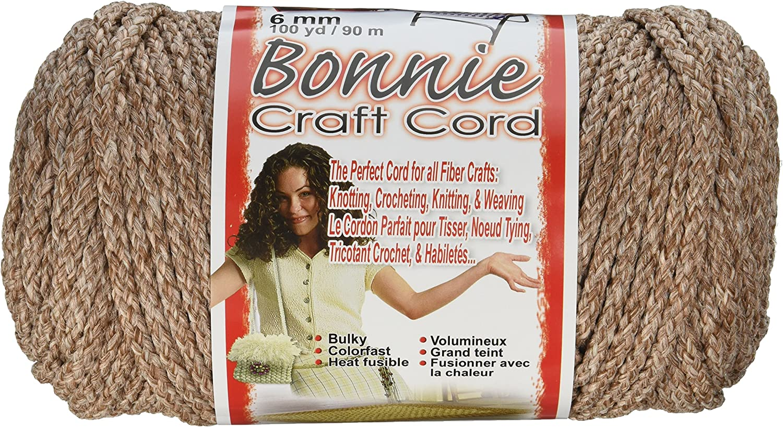 Pottery 6mm 100-Yard Pepperell Bonnie Macrame Craft Cord
