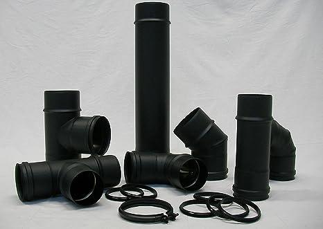 Continental – Caña Caños negro mate D. 100 porcellanato SP. 1,2 para