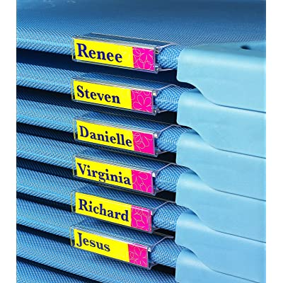 Children's Factory AFB5741 Angels Rest Cot Name Clip - 5 Pack: Industrial & Scientific