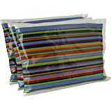 "Ice Pack for Lunch Boxes (3 Pack) Non Toxic (6""x4.5"") by Bentology- Stripe"