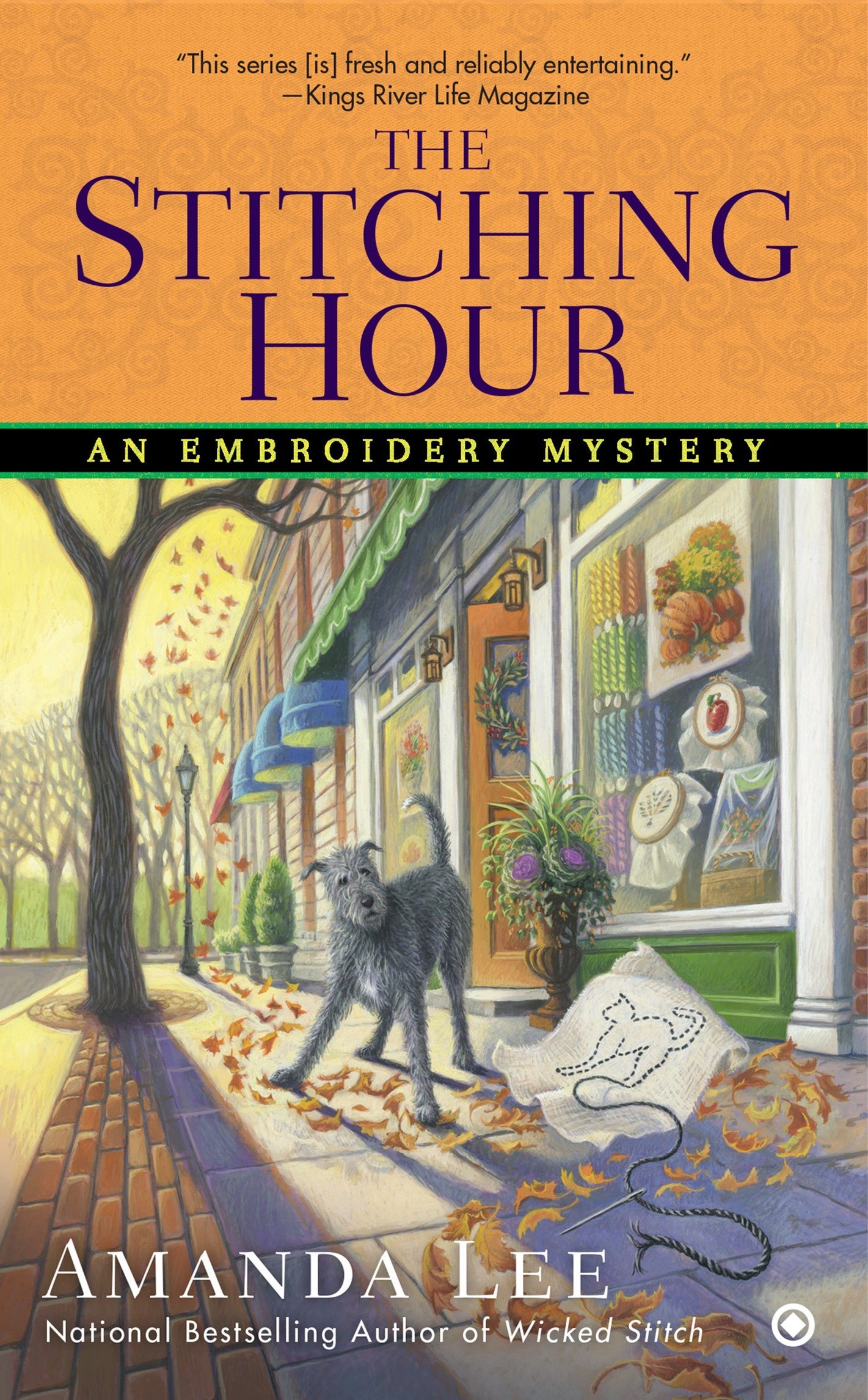 Download The Stitching Hour (Embroidery Mystery) PDF