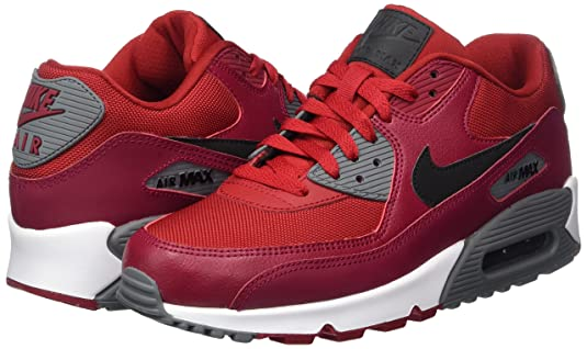 1466a3aee5 Nike Men's Air Max 90 Essential Gym Red/Black - Noble Ankle-High Fashion  Sneaker 7M: Nike: Amazon.in: Shoes & Handbags