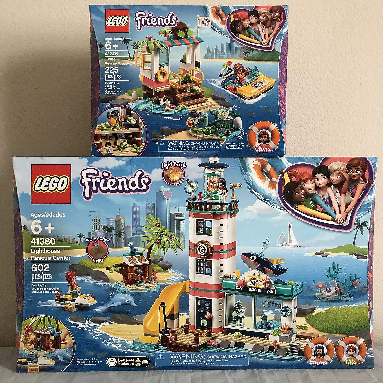 LEGO Friends Lighthouse Rescue Center & LEGO Friends Turtle Rescue Mission