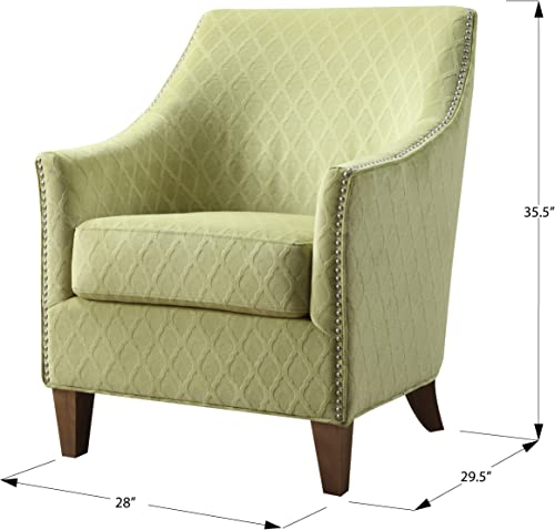 Emerald Home Kismet Wembley Lime Accent Chair