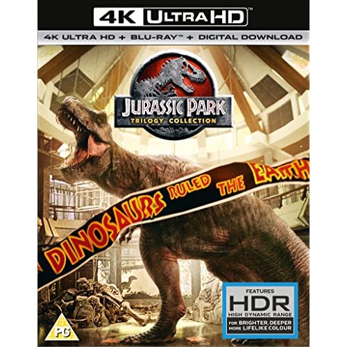 Jurassic Park Trilogy (4K UHD + BD +UV) [2018] [Region Free]