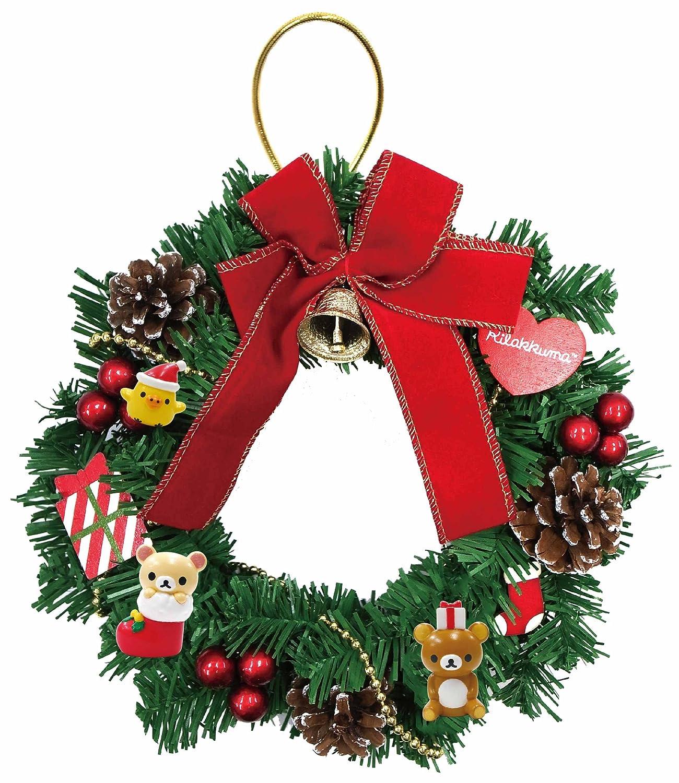 クリスマス リラックマ リース B015SR49HO 24893