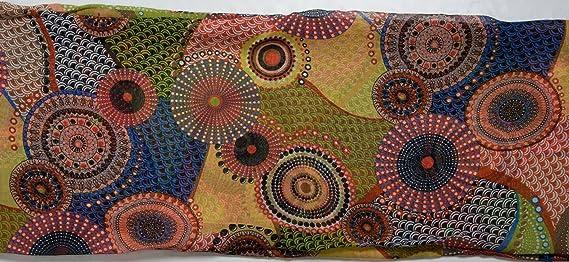 styleBREAKER Echarpe tube - Femme - Motif ethnique 01016014,  couleur orangé-vert  Amazon.fr  Vêtements et accessoires 9067702b50e