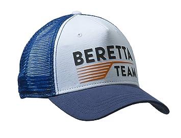 Beretta Team Gorra de béisbol Blue & White Tiene Shooting Trap Clays bt051 ...