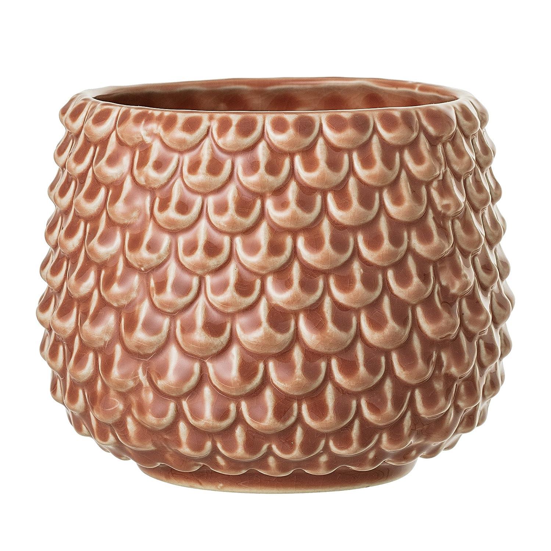 Bloomingville Flowerpot, Orange, Stoneware