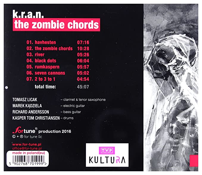 K.R.A.N.: The Zombie Hords [CD] by K.R.A.N.: Amazon.co.uk: Music