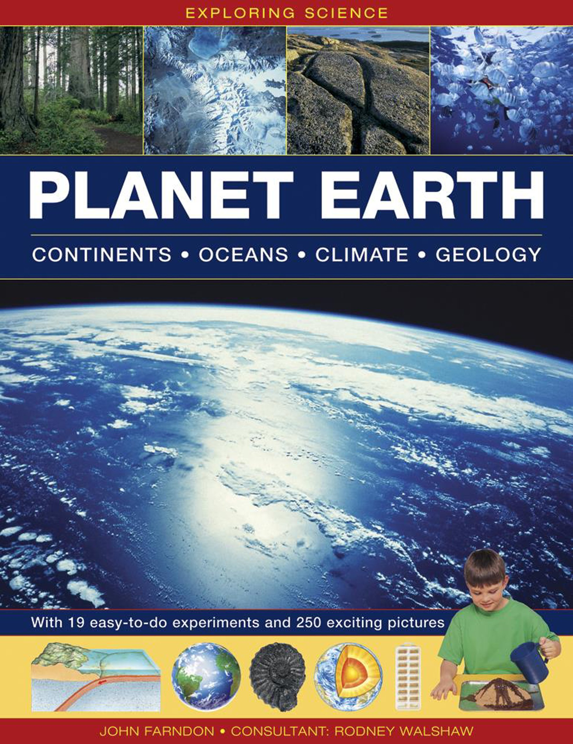 Read Online Exploring Science: Planet Earth: Continents, Oceans, Climate, Geology; With 19 Easy-To-Do Experiments and 250 Exciting Pictures pdf