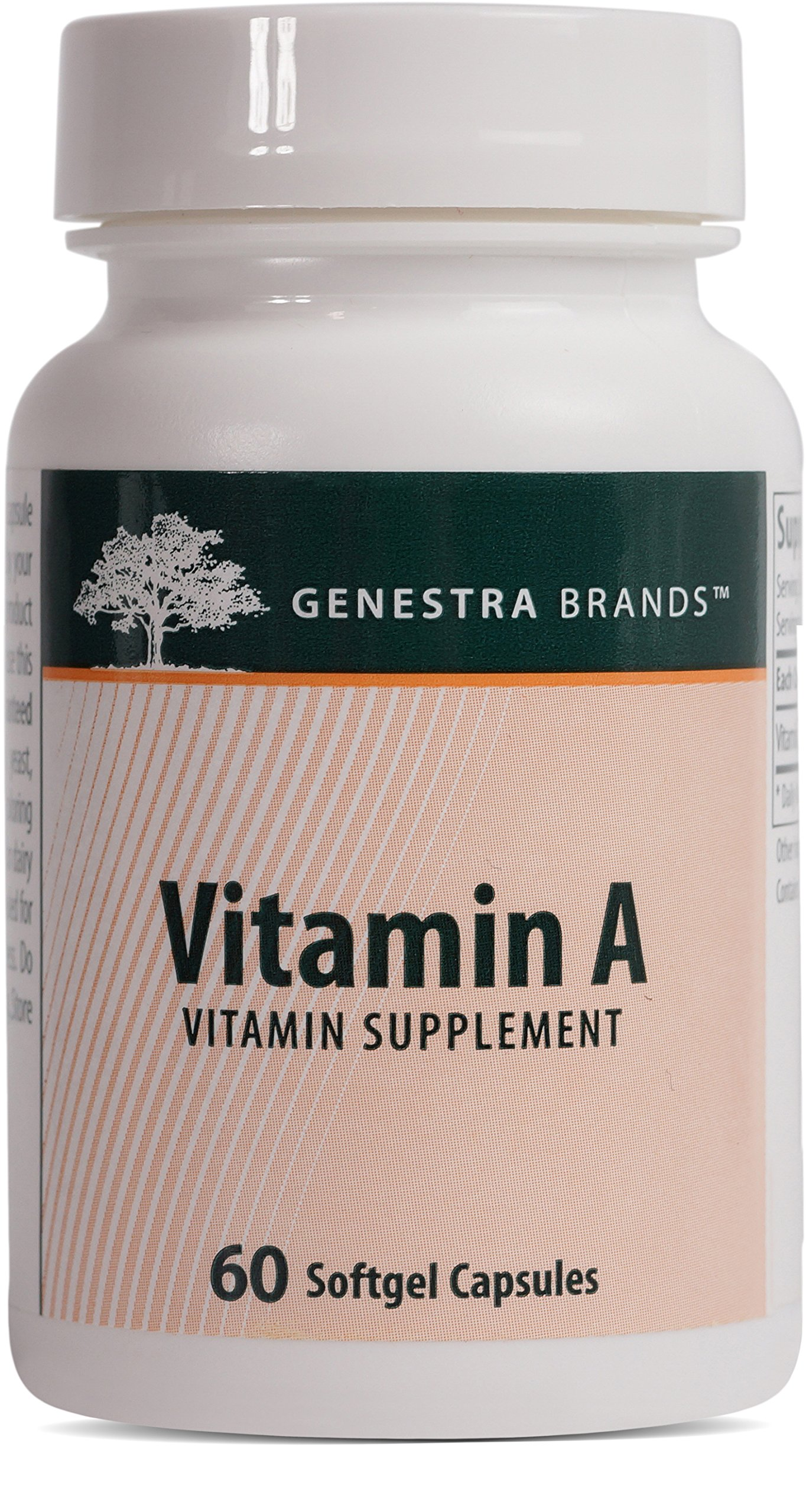 Genestra Brands - Vitamin A - Helps Maintain Eyesight, Skin Membranes and Immune Function* - 60 Softgel Capsules