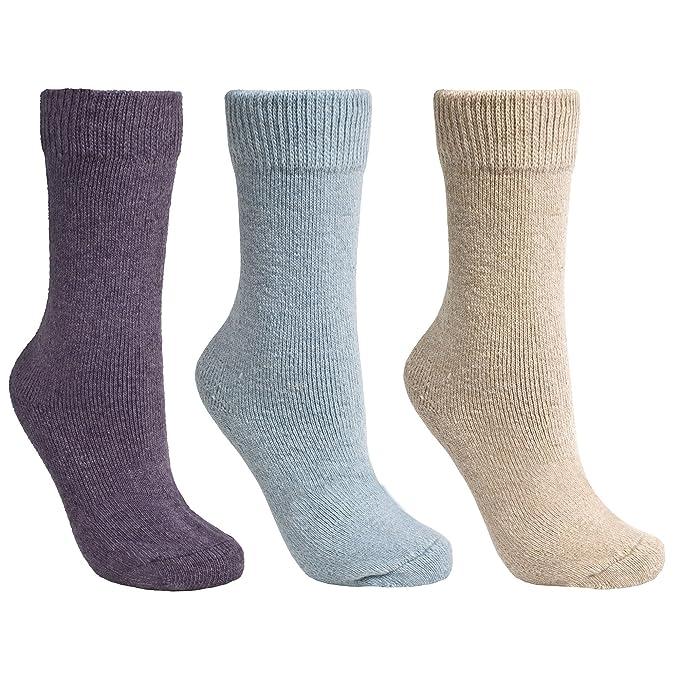 Trespass - Calcetines térmicos de botas Modelo Alert para mujer (pack de 3): Amazon.es: Ropa y accesorios