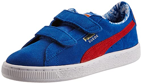 Puma Girl s Suede Superman V Kids Strong Blue-Red-Buttercup Leather Chinese  Shoes - 9e1da84d4