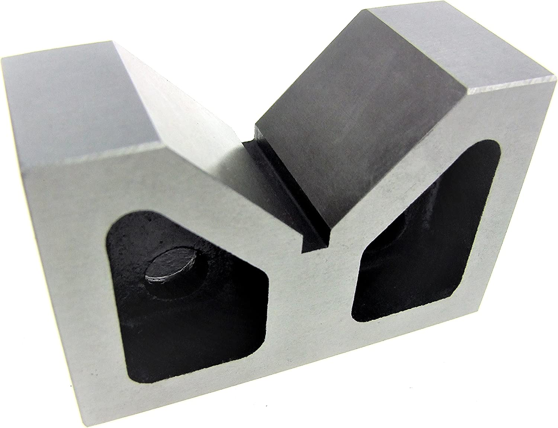 R HFS 4 X 2-1//4 X 2-5//8 Inch Cast Iron V Block Set