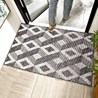 "Chrider Door Mat, 20""x32"" Indoor Outdoor Floor Mat, Non-Slip Absorbent Front Back Doormat Entryway Rugs, Low Profile…"