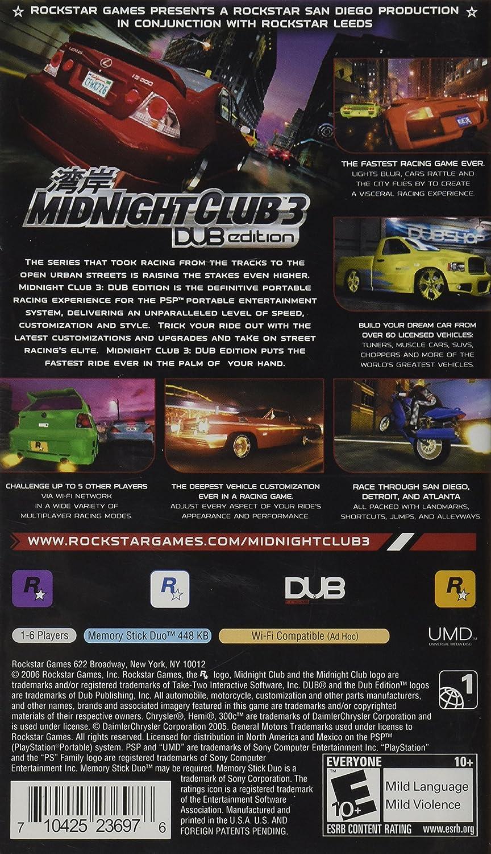 Amazoncom Midnight Club  DUB Edition Remix Xbox Artist Not - Midnight club los angeles map expansion