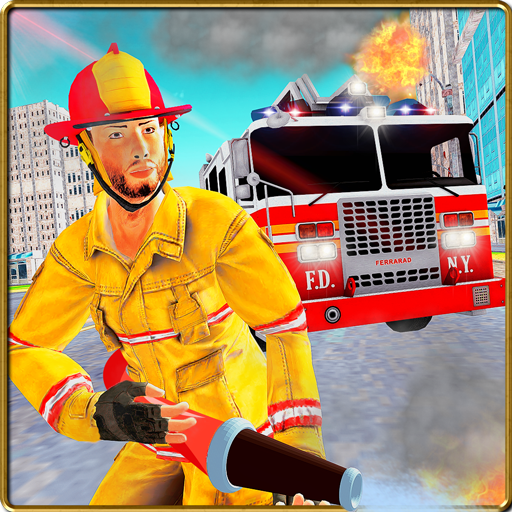 FireFighter City Rescue Hero (Firefighter Green)