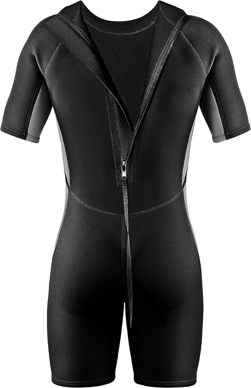 Schwimmanzug Shorty Tauchanzug PI-PE Herren Neoprenanzug Pure