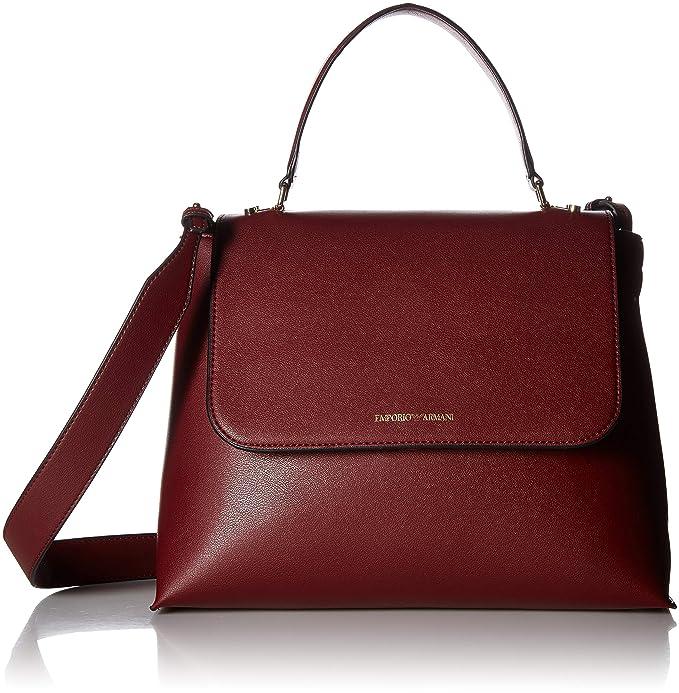 Yh23a it Y3a102 Amazon Shopglamour Bordeaux Armani 8054524752114 Abbigliamento Emporio Borsa Cod Art qwnv7I1R