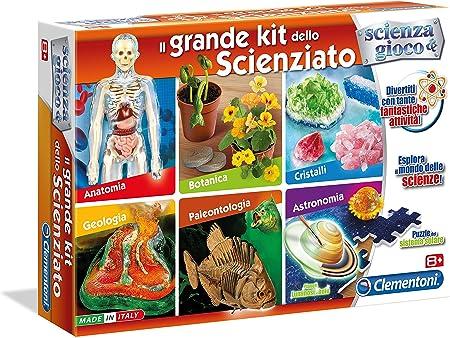 Clementoni Il Grande Kit dello Scienziato