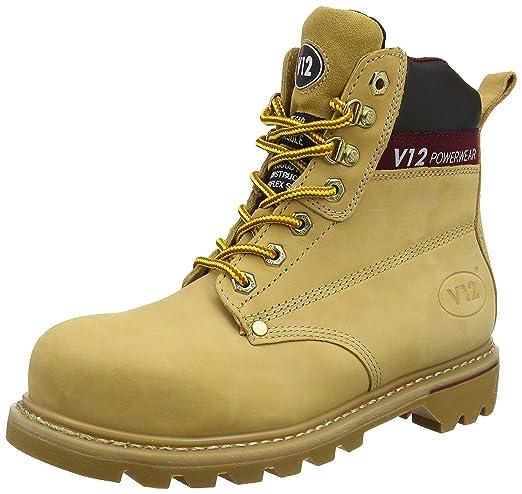 V12 Uk Honey 39 honey Gold Safety Boulder Eu Boot Nubuck 06 0YA0gW
