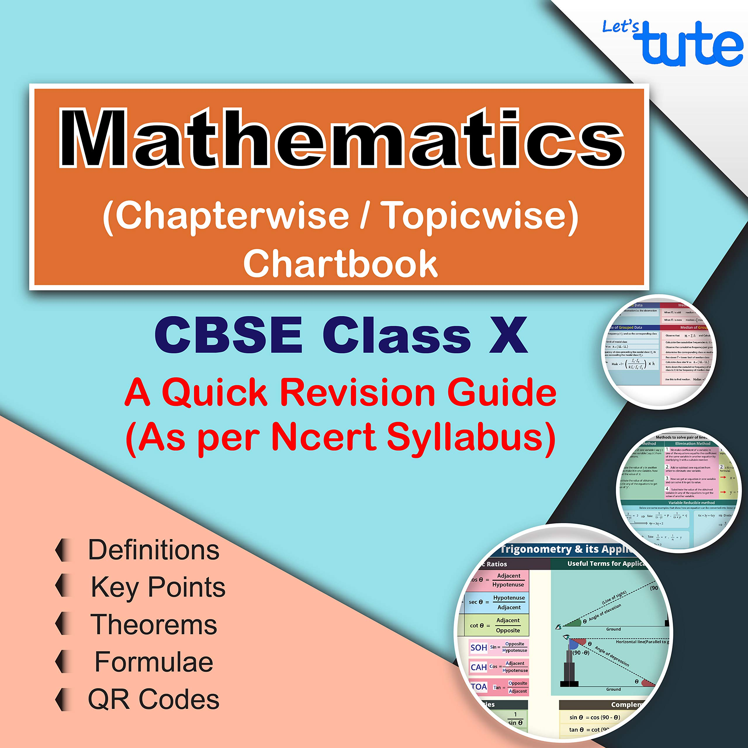 Mathematics Topicwise / Chapterwise Charts With Formula For