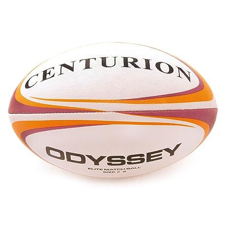 Centurion - Pelota de rugby (talla 5), color naranja, talla Size 5 ...
