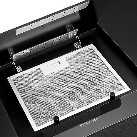 CIARRA Filtro de grasa de aluminio para campana extractora CBCB6725 (229.2 x 289.1 mm), 1 pieza: Amazon.es: Grandes electrodomésticos