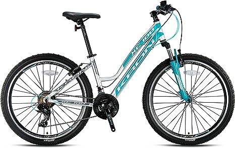 KRON XC-100 - Bicicleta de montaña de aluminio para mujer, 26 ...