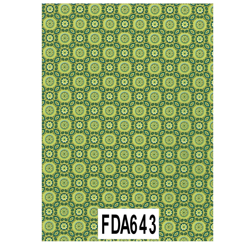 643 Packung mit 20 Bl/ätter gr/ün D/écopatch Papier No mosaik 395 x 298 mm, ideal f/ür Ihre Papmach/és bl/ätter