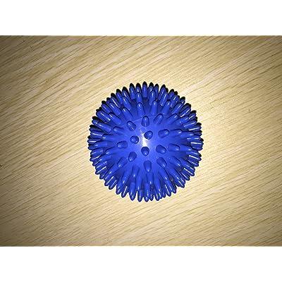 7cm rigide Sensory Balle à picots de massage Trigger Point pour Full Body Muscle Réflexologie soulager le stress, yoga gymnastique fitness exercice Sport, l'Autisme thérapie
