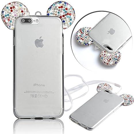 custodia iphone 7 orecchie di topolino