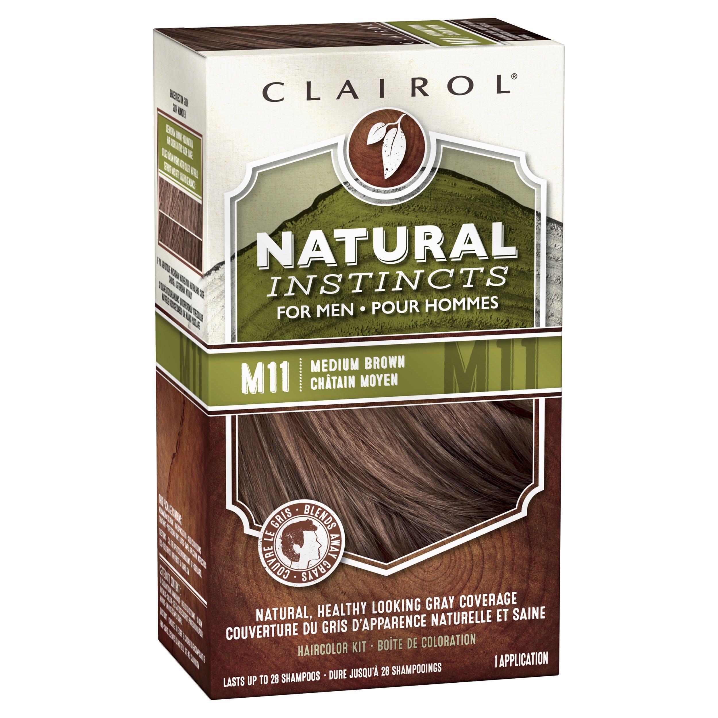 Clairol Natural Instincts Semi Permanent Hair Color Kit For Men 3